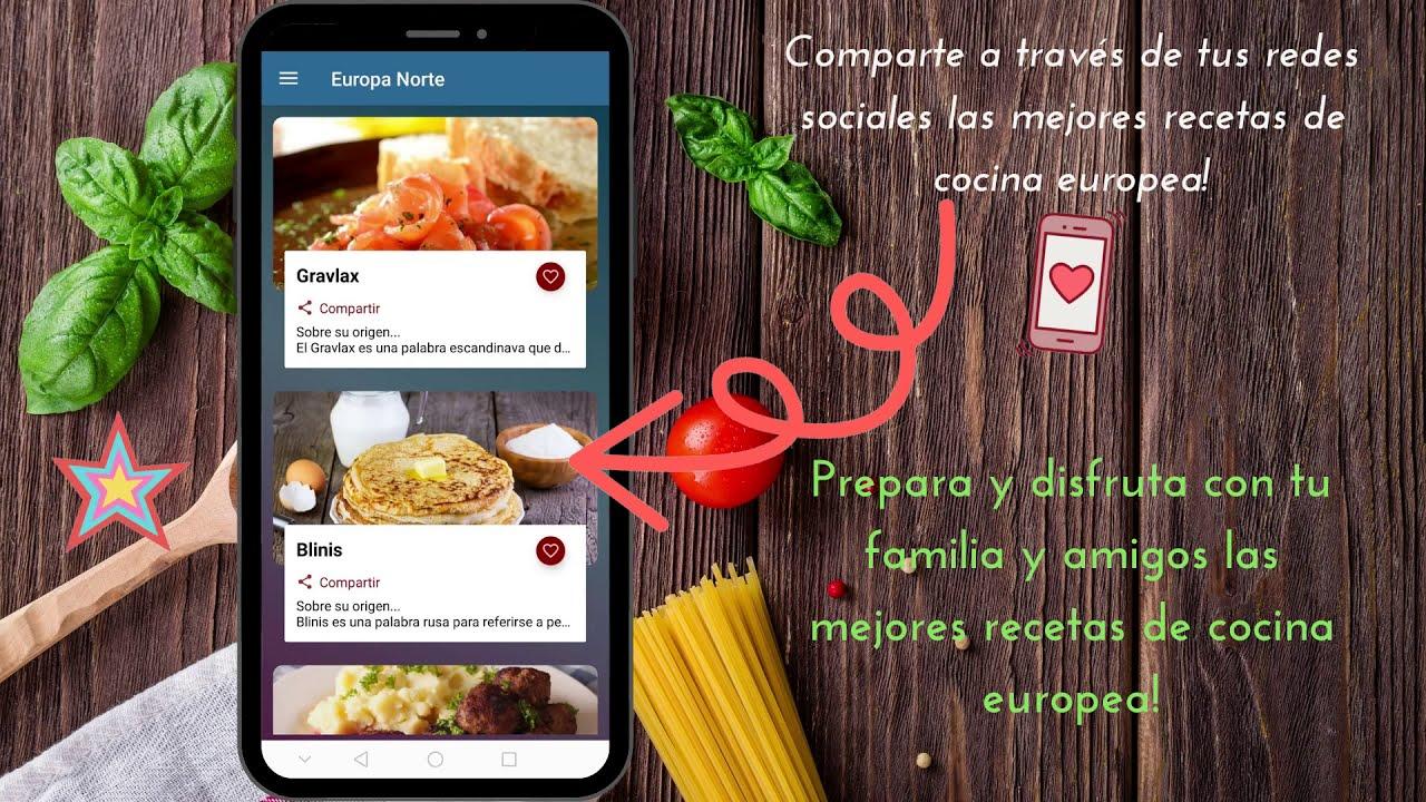 App Recetas Cocina Internacional