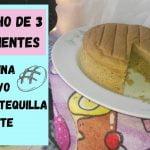 BIZCOCHO DE 3 INGREDIENTES (Sin huevo, harina, aceite ni mantequilla) Mi receta de cocina