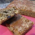 BIZCOCHO DE BANANAS Y PASAS  Mi receta de cocina