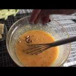 Bizcocho MUY JUGOSO de mango, kiwi y zanahorias ( o solo de zanahorias)  Mi receta de cocina