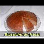 Bizcocho de fresa ☯️ 🎂 Mi receta de cocina