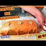 Bizcocho de zanahorias y nueces (SIN GLUTEN)   Carrot and walnut cake (GLUTEN FREE) Mi receta de cocina