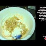 Bizcocho sin azúcar y sin grasa de manzana y canela. - La web de cocina de Mabel  Mi receta de cocina