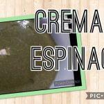 COMO HACER CREMA DE ESPINACAS EN THERMOMIX | RECETA SANA Y NUTRITIVA