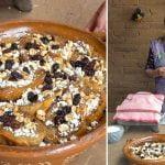 Capirotada Tradicional De Rancho La Cocina En El Rancho