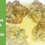 Como hacer buñuelos de calabacín....receta de la cocina griega
