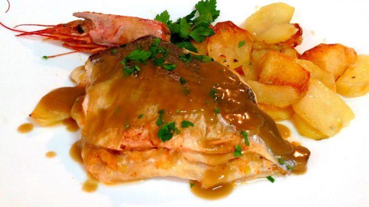 DORADA RELLENA AL HORNO | Recetas de Cocina
