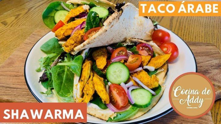 En 20 minutos la comida lista! Fácil, Saludable y Salvadora TACO ARABE o SHAWARMA | Cocina de Addy