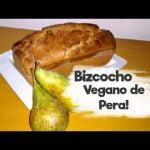 Este bizcocho es LA PERA! 🍐🍐 Vegano!!  Mi receta de cocina