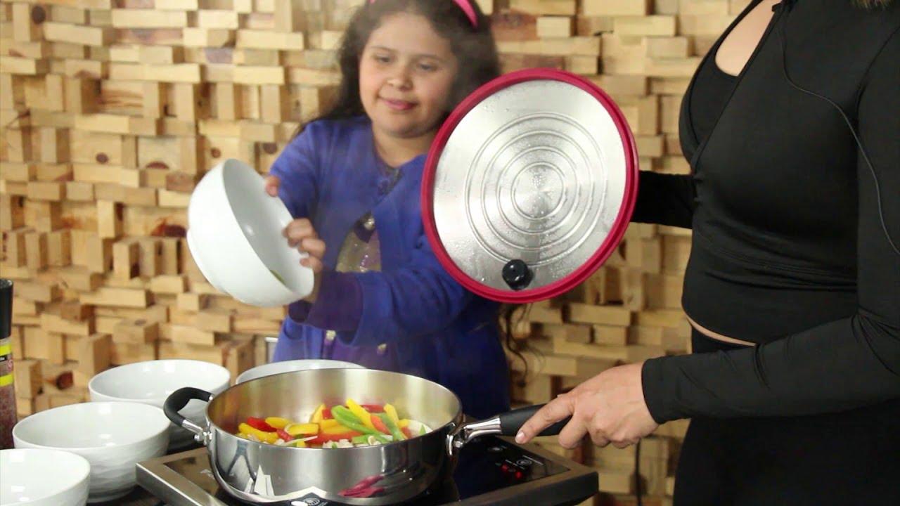 Fajitas de pollo con aguacate / receta de Cocina saludable con Primavera EP 3   Completo
