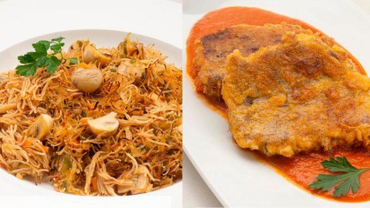 Fideos con verduras - Morcillo en salsa vizcaína - Cocina Abierta de Karlos Arguiñano