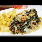 GUISO DE ACELGAS, RECETA VEGETARIANA Prepara esta maravillosa comida con pocos ingredientes.