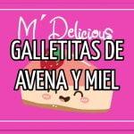 Galletas de Avena y Miel / Galletas con aceite/ galletas fáciles en 30 minutos*  Mi receta de cocina
