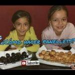 HACEMOS  PANELLETS/ RECETAS DE PANELLETS de piñones,  chocolate... * CON MELLIZAS CHANNEL  Mi receta de cocina