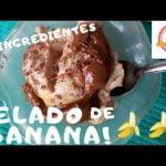 HELADO DE BANANA 2 INGREDIENTES SIN TACC| Aquí sin gluten Mi receta de cocina