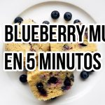 🍇KETO BLUEBERRY MUFFIN | DESAYUNO KETO EN 5 MINUTOS | POSTRE KETO | Manu Echeverri  Mi receta de cocina