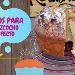 LOS MEJORES TRUCOS PARA TENER EL BIZCOCHO PERFECTO  Mi receta de cocina