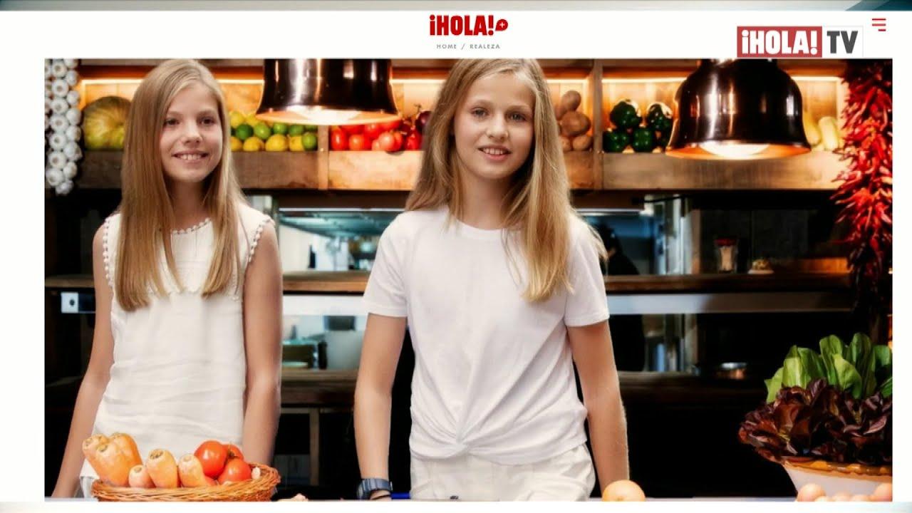 La pasión por la cocina de la princesa Leonor y la infanta Sofía que no conocías   ¡HOLA! TV