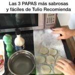 Las 3 PAPAS más sabrosas y más fáciles ¿Cómo hacer papas saludables y tortilla de patatas?