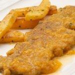 Lengua de ternera en salsa con patatas fritas - Cocina Abierta de Karlos Arguiñano