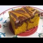 MARMOLEADO DE ZANAHORIA UN LUJO DE KEKE CAKE NUTRITIVO BARATO FACILÍSIMO SUPER LINDO ¡EN LICUADORA!