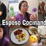 MI ESPOSO COCINA COMIDA ALEMANA |ME DICE LOCA!QUEREMOS 6 NIETOS?|RECETA ENSALADA DE ZANAHORIA