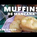 MUFFINS DE MANZANA| Aquí sin gluten Mi receta de cocina