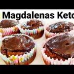 Magdalenas Keto de Chocolate y Coco🥥   Muffins Keto de Chocolate  Sin Gluten  Mi receta de cocina