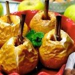 Manzanas asadas, receta facil, y rapida un postre tradicional