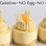Mini pasteles de queso de mango SIN gelatina SIN huevo SIN hornear ¡Prepara con anticipación los mini postres DEBE INTENTARLO!  Mi receta de cocina