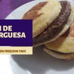 PAN de HAMBURGUESA🍔 SIN GLUTEN,SIN LEVADURA(sin horno)  Mi receta de cocina