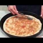 PIZZA DE MASA MADRE!! SUPER RICA Y SALUDABLE!!! ---cocina saludable