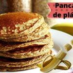Pancakes de plátano 3 ingredientes 🍌 Recetas cocina  fácil y rápido