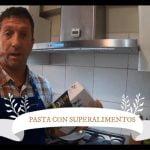 Pasta con superalimentos naturales Tiyapuy - cocción del tagliatelle  Mi receta de cocina