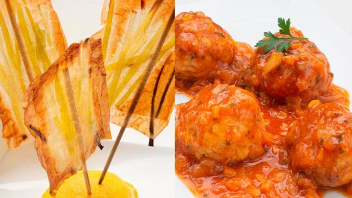 Pica de puerro - Albóndigas de pollo y queso - Cocina Abierta de Karlos Arguiñano