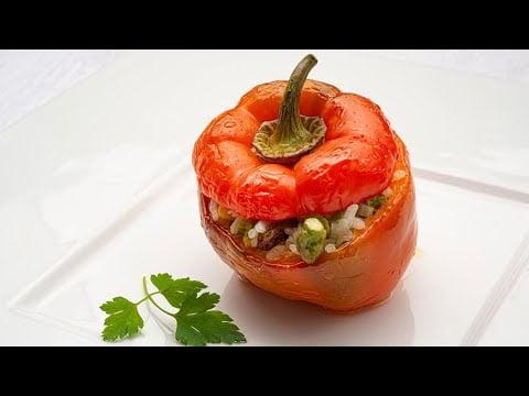 Pimientos rellenos de vegetales - Cocina Abierta de Karlos Arguiñano