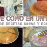 QUÉ COMO EN UN DÍA SALUDABLE / RECETAS SANAS Y ECONOMICAS 👩🏼🍳3 ideas FÁCILES Y SALUDABLES😋MEAL PREP  Mi receta de cocina