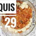 RECETA ÑOQUIS DE PAPA , COMO hacer la receta fácil , ñoquis de 29 con salsa