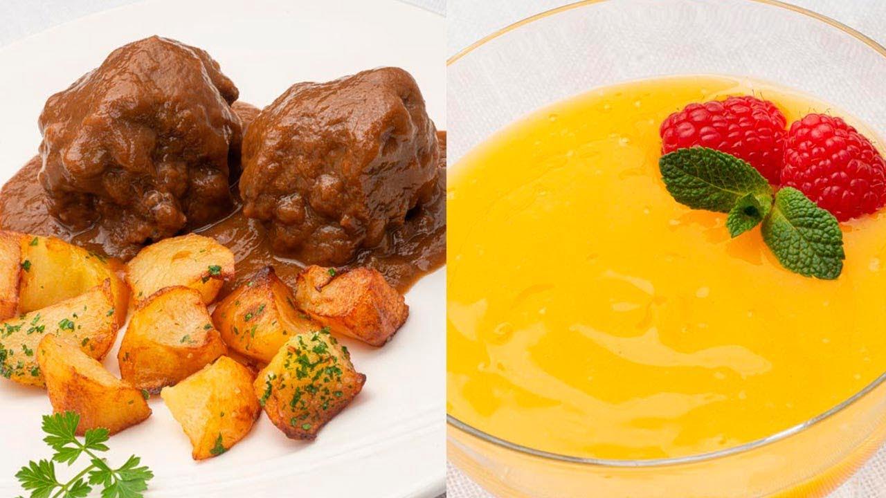 Rabo de toro a la cordobesa - Crema o manjar de naranja - Cocina Abierta de Karlos Arguiñano