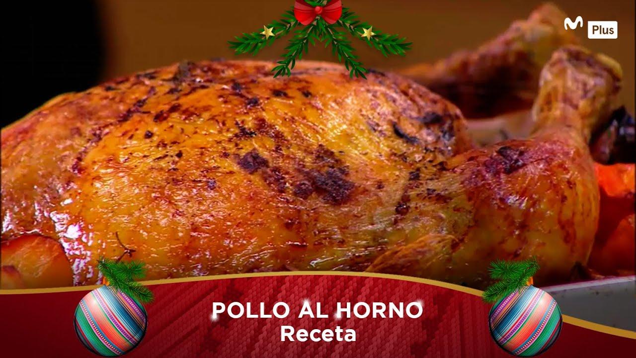 Receta: Pollo al horno l Cocina en un toque
