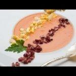 Receta de Salmorejo con huevo cocido y jamón - Karlos Arguiñano  Mi receta de cocina