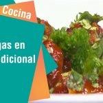 Receta de Secretos de Cocina de Unilever: Albondigas en salsa tradicional