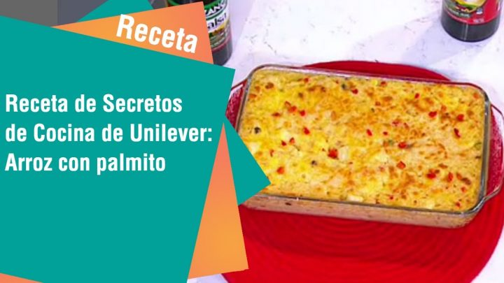 Receta de Secretos de Cocina de Unilever: Arroz con palmito   Cocina