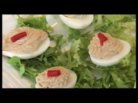 Receta de huevos rellenos | Cocina de La Región