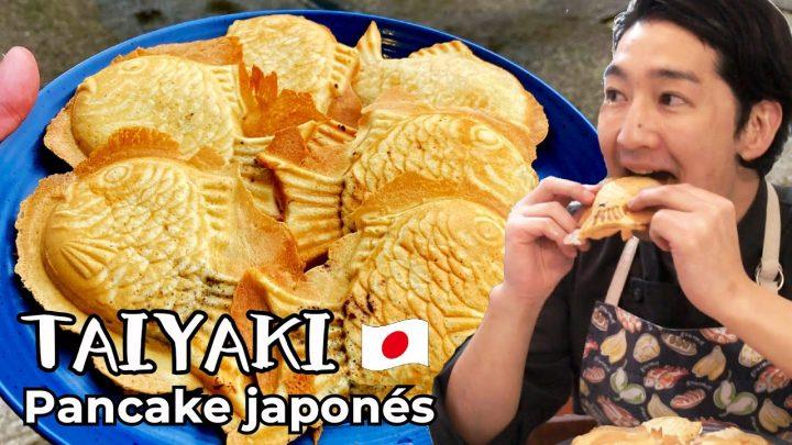 """Receta de """"TAIYAKI"""" Pancake japonés cocina japonesa"""