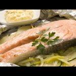 Receta de salmón al papillote con salsa tártara - Karlos Arguiñano