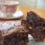 Receta sencilla de Brownie casero de chocolate | Recetas fáciles de Los Postres de Mami Mi receta de cocina