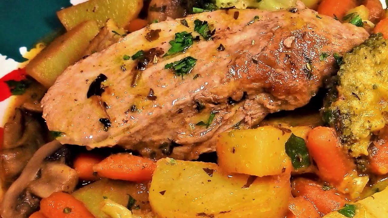 SOLOMILLO DE CERDO al HORNO   ¡ Receta de cocina facil y economica - Cocina con Javier