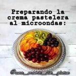 Sin gluten y sin láctosa🔥 crema pastelera al microondas, súper fácil y muuuuy rica!  Mi receta de cocina