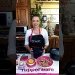 Solomillo con piña. Cocina rápida, fácil y sana con Erika Tupperware. Microcook.